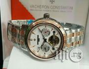 Vacheron Constantin Chronograph Rose Gold/Silver Chain Watch   Watches for sale in Lagos State, Lagos Island
