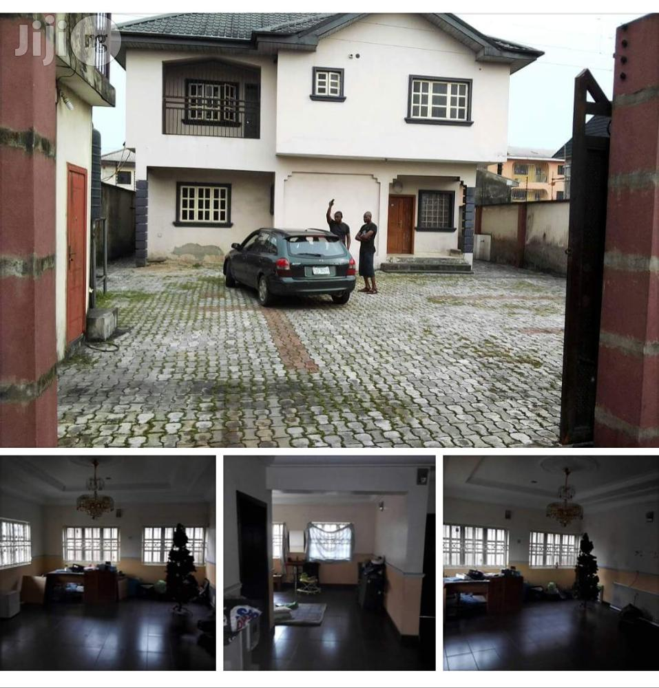 Archive: 4bedroom Duplex With 3rooms Bq At Ada George Before Agip Port For Sale