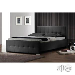 Peerless Modern Leather Bed Frame   Furniture for sale in Lagos State