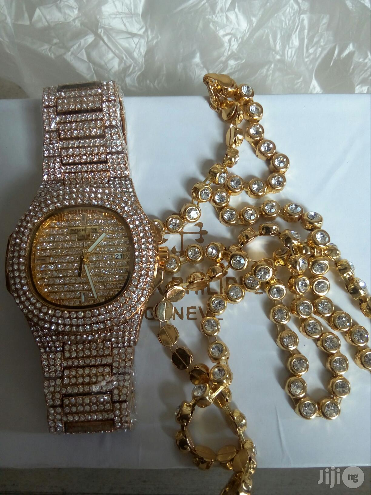 PATEK PHILIPPE Ice With Diamond Necklace Chain