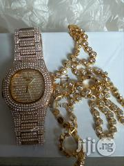 PATEK PHILIPPE Ice With Diamond Necklace Chain | Jewelry for sale in Lagos State, Surulere