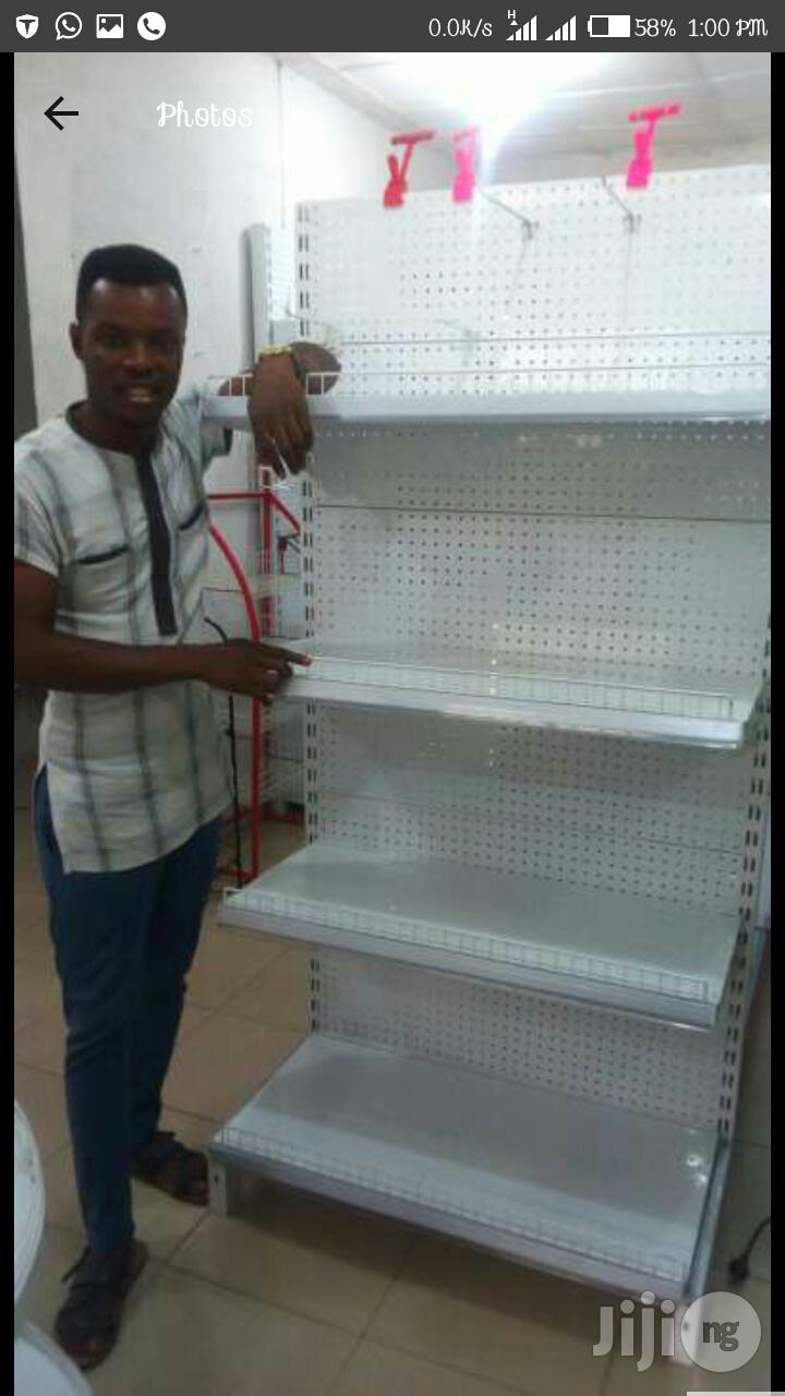 Supermarket Shelves At Affordable Prices 1   Store Equipment for sale in Yaba, Lagos State, Nigeria
