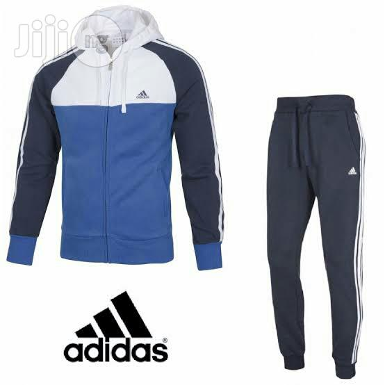Tracksuit Adidas Cotton Track Up And Down