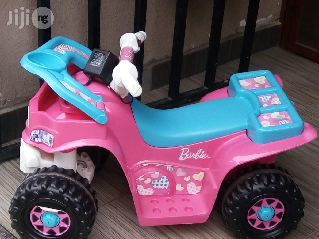 Tokunbo Uk Used Barbie Power Wheels From 2years To 6years In Ikeja Toys Tokunbo Baby Trends Jiji Ng
