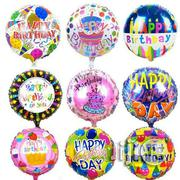 "18"" Happy Birthday Foil Balloon 
