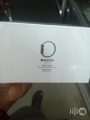 Apple Watch Series 3 38mm GPS Space Gray Aluminum   Smart Watches & Trackers for sale in Lagos State, Ikeja