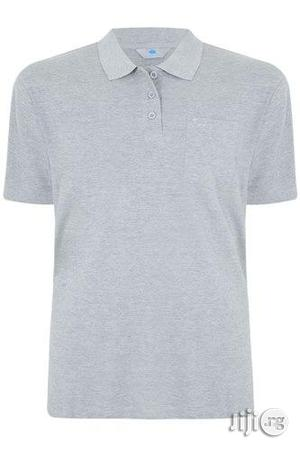 Plain Grey Polo T-shirt M--xxl   Clothing for sale in Lagos State, Surulere