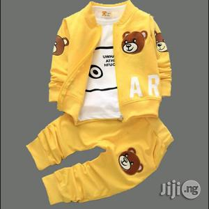 Three in One Longsleeve Joggers. Available 1-4yrs | Children's Clothing for sale in Lagos State, Surulere