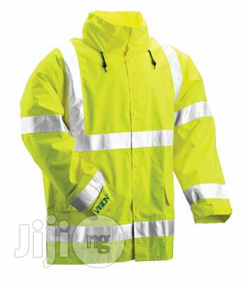 Safety Rain Coat With Reflective Stripes | Safetywear & Equipment for sale in Kosofe, Lagos State, Nigeria