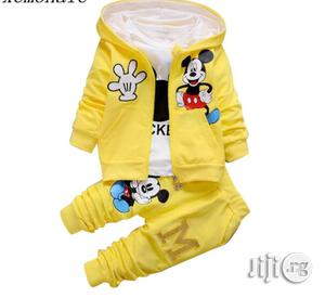 Three in One Longsleeve Joggers. Available for 1-4yrs   Children's Clothing for sale in Lagos State, Surulere