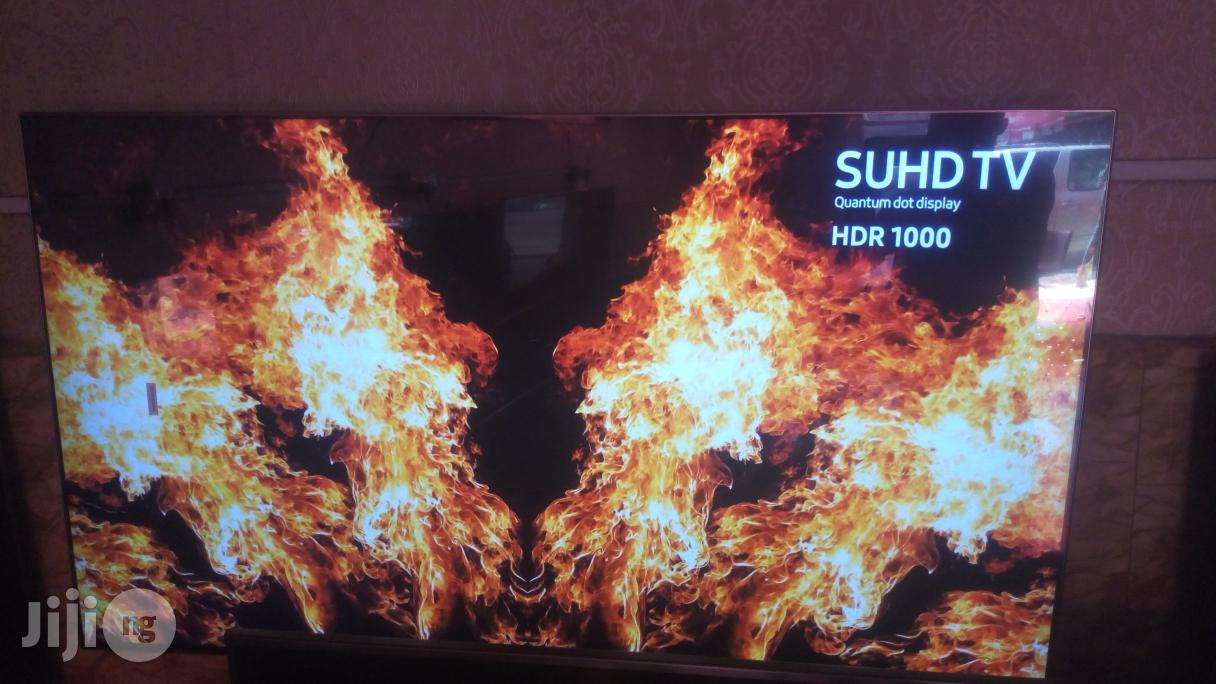 "Ultra Thin 65"" Curved Samsung SUHD 4K Quantum Dot Smart TV"