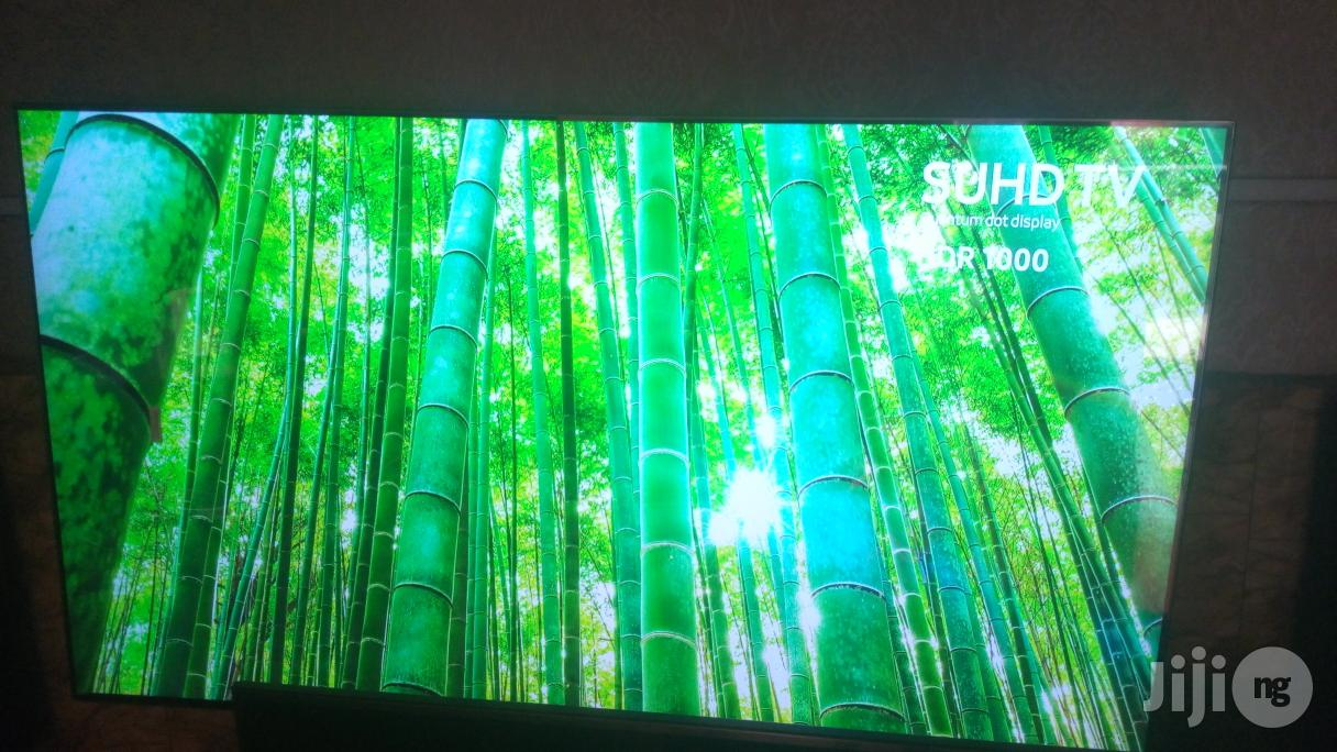 """Ultra Thin 65"""" Curved Samsung SUHD 4K Quantum Dot Smart TV 