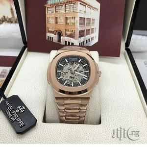Patek Philippe Automatic Rose Gold Chain Watch | Watches for sale in Lagos State, Lagos Island (Eko)
