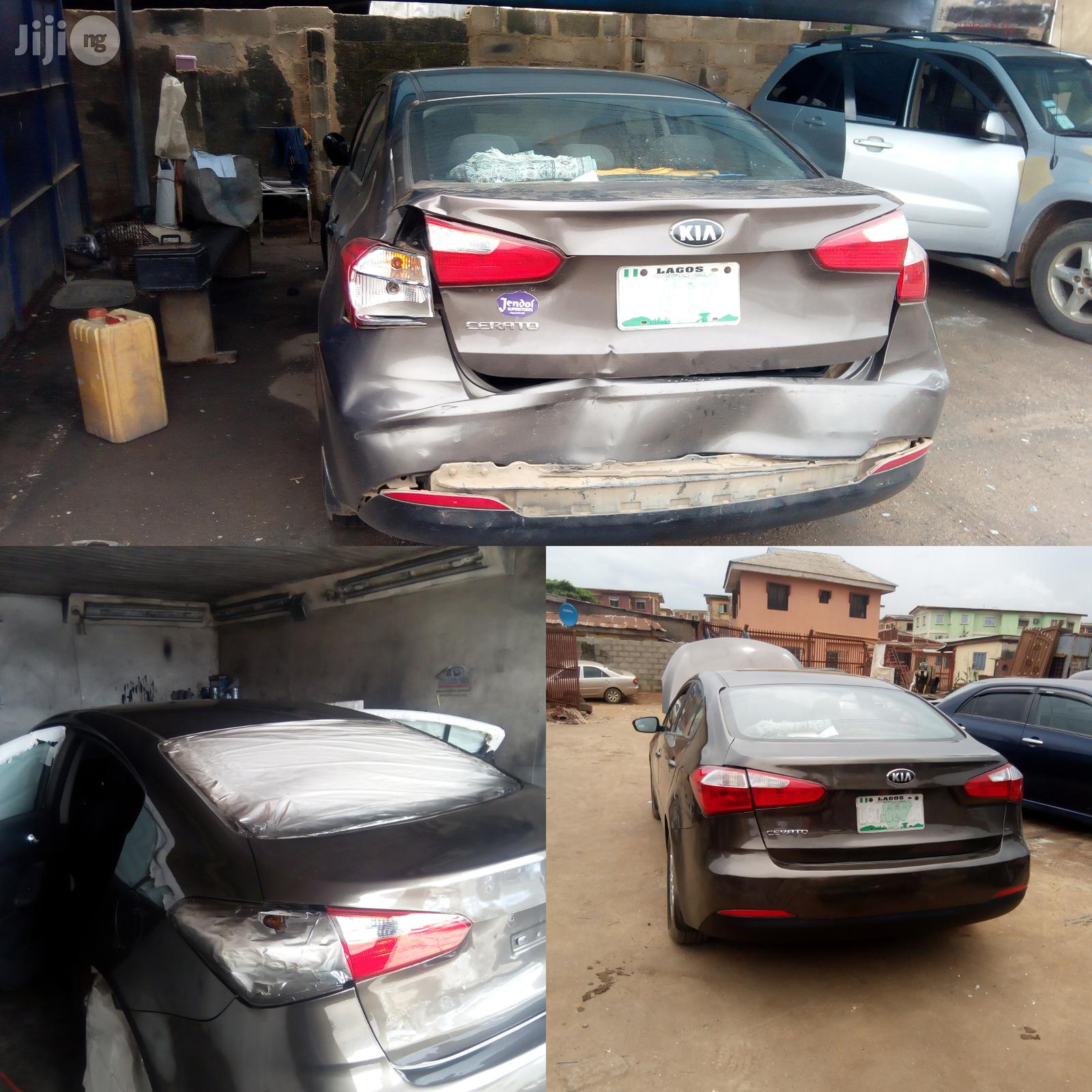 Auto Classic Oven Bake Painting Service | Automotive Services for sale in Isolo, Lagos State, Nigeria