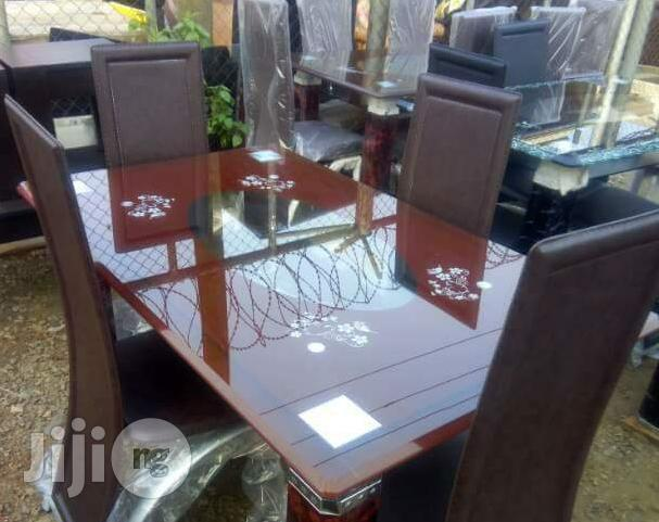 Imported 4-Seater Dining Table With Chairs