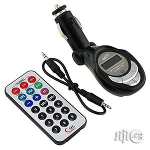 Fm Transmitter Car MP3 Player With Car Charger | Vehicle Parts & Accessories for sale in Lagos State, Ikeja