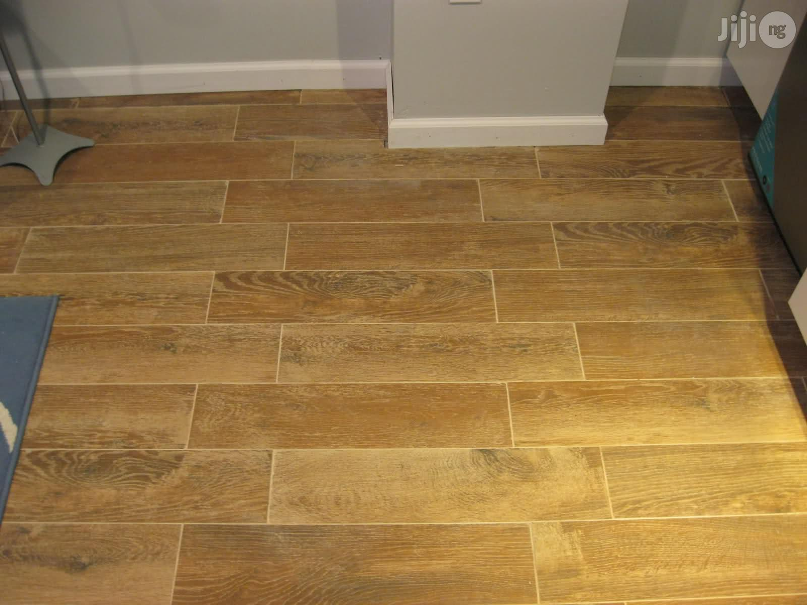 Laminating Wooden Floor Tiles