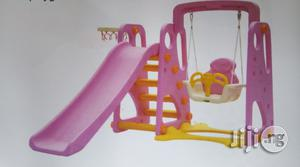 Playground Slide With Protected Swing & Net   Toys for sale in Lagos State, Ikeja
