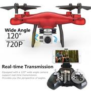 Wifi Drone With HD Camera Quadcopter Remote Control | Photo & Video Cameras for sale in Lagos State, Ikeja