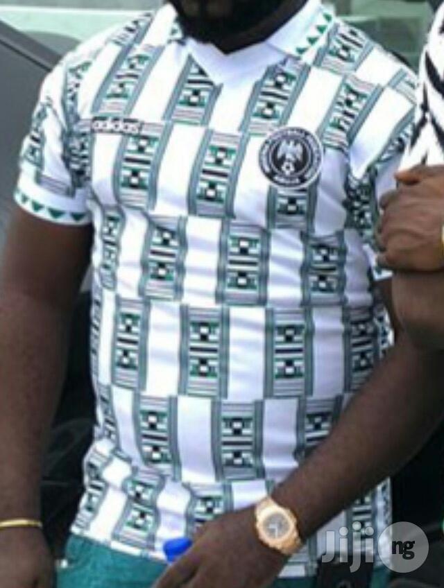 Nigeria Jersey 1994 Jersey Nigeria World Cup Jersey In Surulere Clothing Holloway Sport Store Jiji Ng For Sale In Surulere Buy Clothing From Holloway Sport Store On Jiji Ng