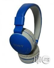 Wireless Bluetooth Headphone With Built-in Mic - Blue | Headphones for sale in Lagos State