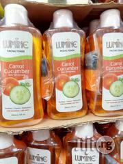 Lumine Facial Toner Carrot Cucumber Skin Whitening -200ml   Skin Care for sale in Lagos State, Ojo