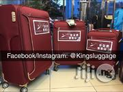 Leavesking Set Luggage - Red   Bags for sale in Lagos State, Lagos Island