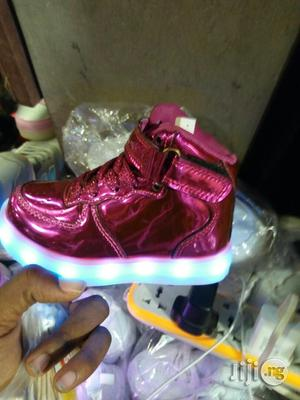 LED Light High Top Ankle Sneakers for Kids | Children's Shoes for sale in Lagos State, Lagos Island (Eko)