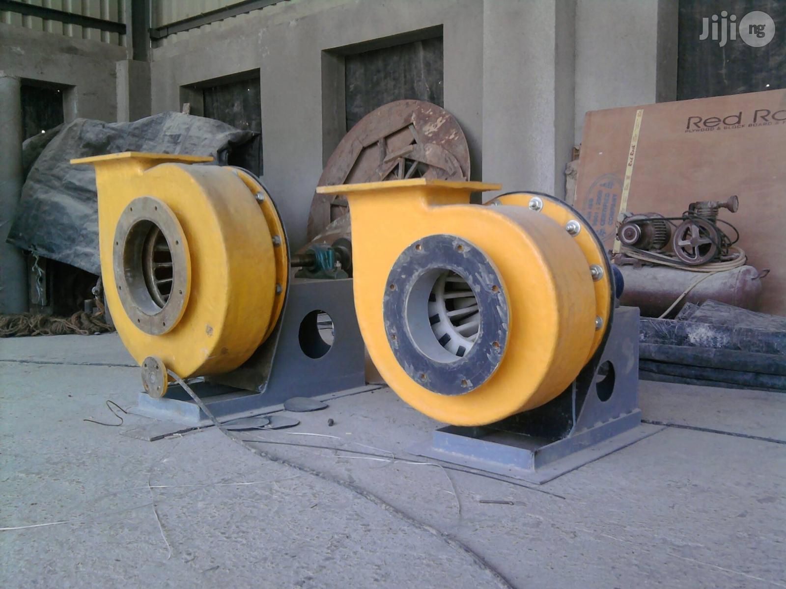 FRP/GRP Blowers & Extractors | Manufacturing Services for sale in Lagos State, Nigeria