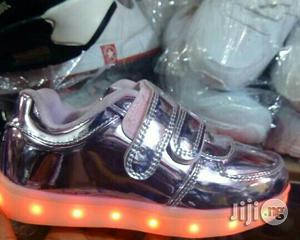 LED Pink Sneakers for Girls | Children's Shoes for sale in Lagos State, Lagos Island (Eko)