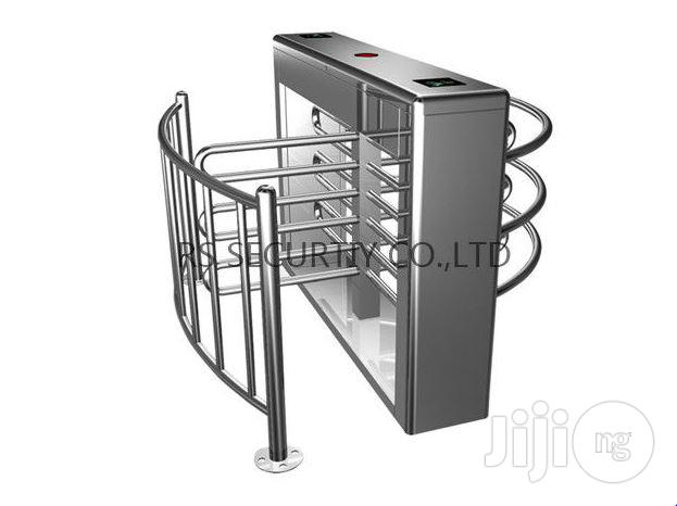 Road Safety Half Height Turnstile Access Control Systemstem