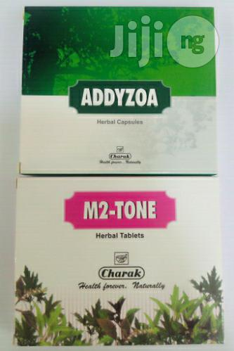 M2 Tone And Addyzoa Fertility Caps For Couples
