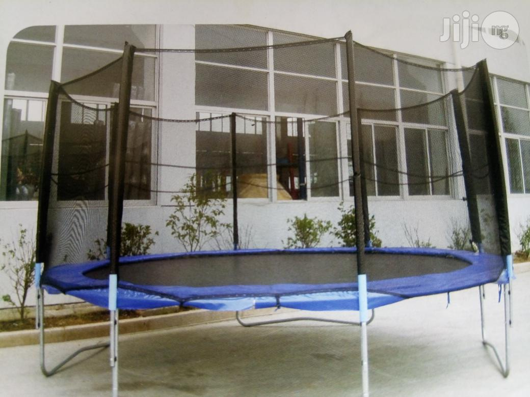Now Available, Outdoor Trampolines