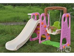 Colorful Kids Playground Swing With Slide | Toys for sale in Lagos State, Ojodu