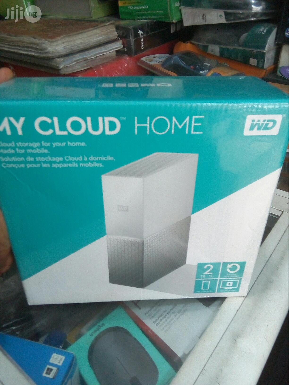 WD 2TB Cloud Home Personal Cloud Storage   Computer Hardware for sale in Ikeja, Lagos State, Nigeria