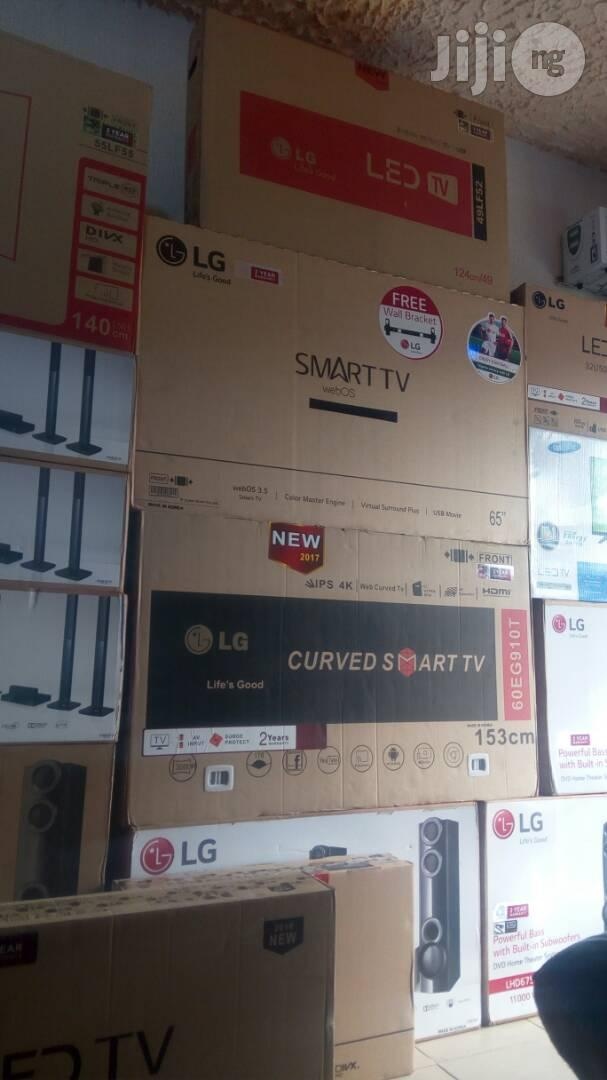LG 65 Inches Smart LED Televison HDMI   TV & DVD Equipment for sale in Ojo, Lagos State, Nigeria