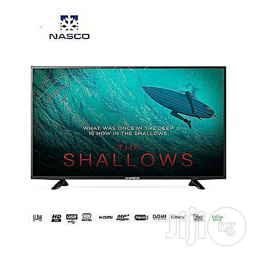"""Nasco 40"""" LED TV"""
