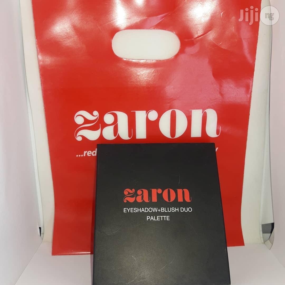 Zaron Eyeshadow Palette And Duo Blush - Fire Kraker