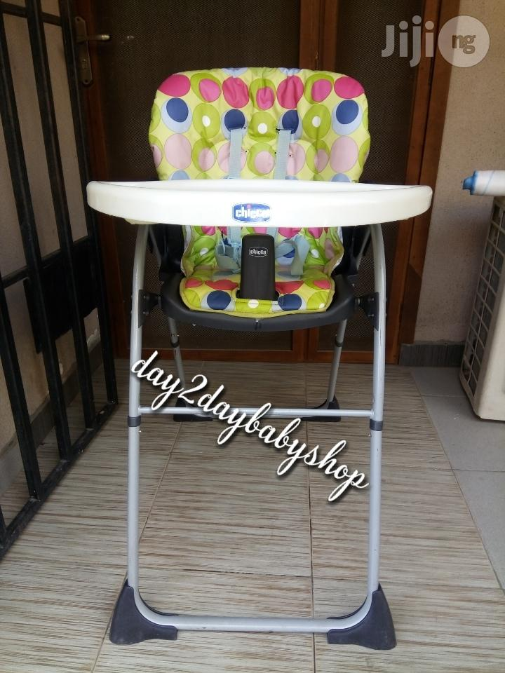 Tokunbo UK Used Chicco Highchair | Children's Gear & Safety for sale in Lagos State, Nigeria