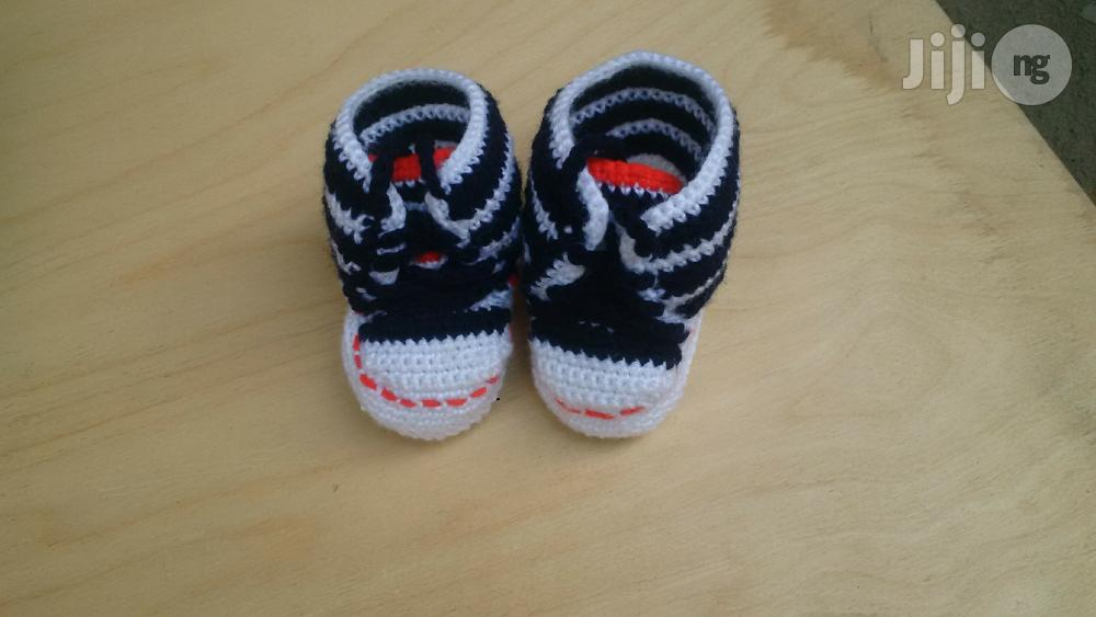 Baby Crochet Booties | Children's Shoes for sale in Oshodi, Lagos State, Nigeria