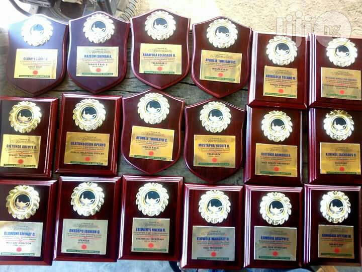 Awards Wood/Glass/Vibre Glass