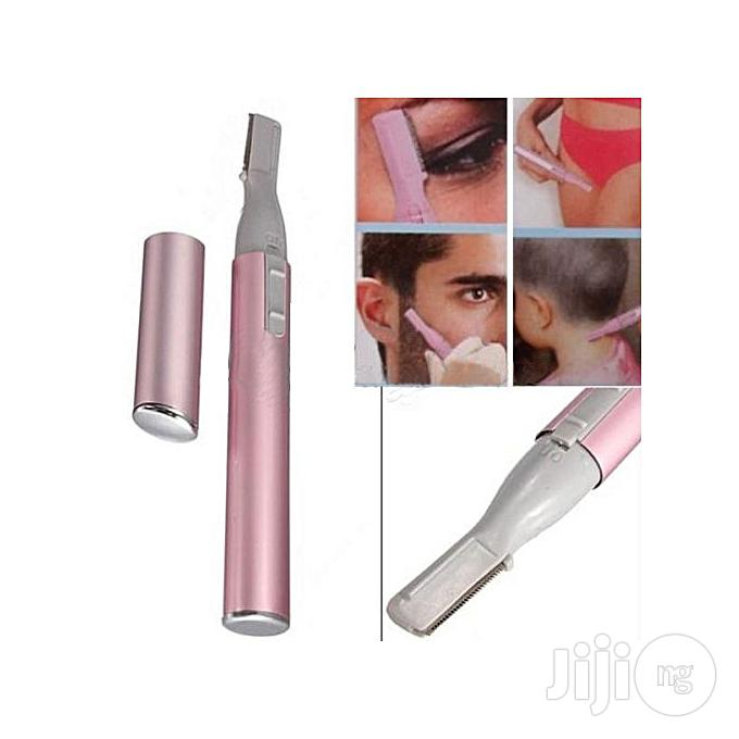 Electric Eyebrow, Body, Face Hair Trimmer With Free Battery