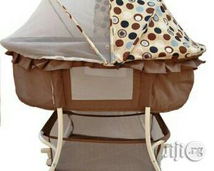 Baby Bassinet Brown | Children's Furniture for sale in Lagos State, Yaba
