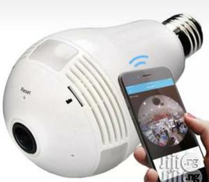 Bulb Light Wireless IP Spy Camera | Security & Surveillance for sale in Lagos State, Ikeja