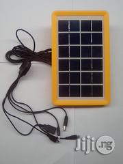Saroda 6V 3W USB Solar Charging Panel With 5 In 1 Cable   Solar Energy for sale in Lagos State, Agboyi/Ketu