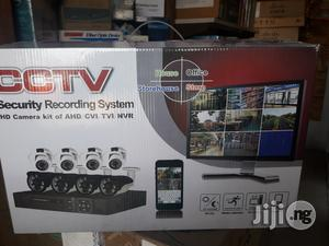 Cctv Kit Of 4 Outdoor 4 Indoor 1 Dvr With Cables | Security & Surveillance for sale in Lagos State, Ikeja