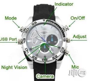 IR Night Vision 1080P HD Waterproof 8GB Hidden Camera Watch | Security & Surveillance for sale in Lagos State, Amuwo-Odofin