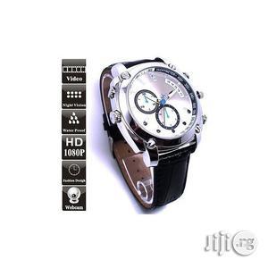IR Night Vision 1080P HD 8GB Hidden Camera Watch | Security & Surveillance for sale in Lagos State, Amuwo-Odofin