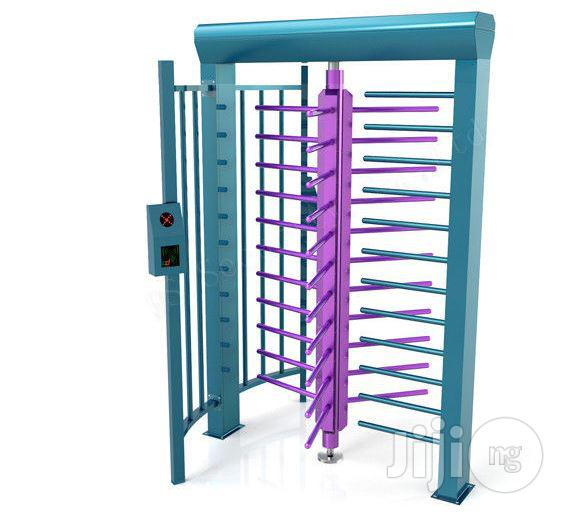 Safety Stainless Steel Full High Turnstile Access Control