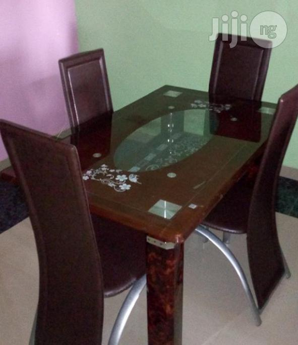 Newly Imported 4-Seater Dining Table With Chairs